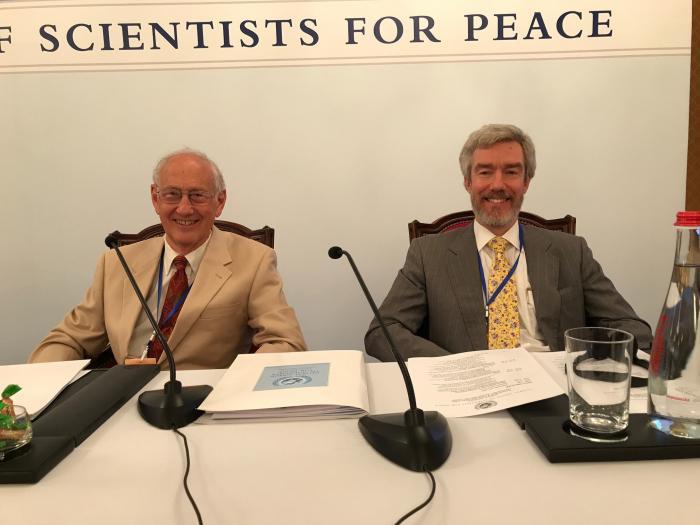 David Orme-Johnson, PhD and Howard Chancellor, PhD